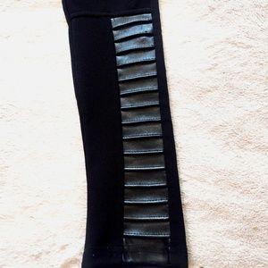 evil twin Pants - New Evil Twin Moto Ribbed Leggings XS